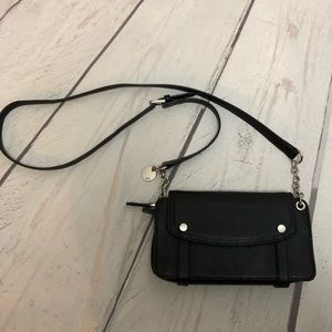 The Limited Moto Pebbled Leather Crossbody Bag